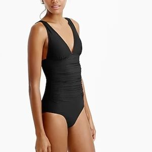 J.Crew Ruched femme one-piece swimsuit B6819